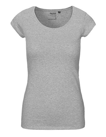 Damen BioBaumwoll Tshirt Rundhals